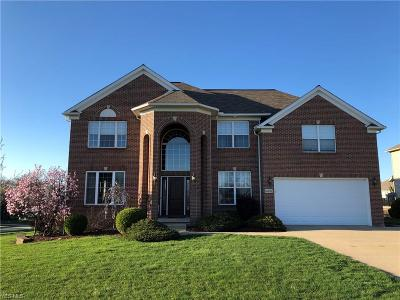 Strongsville Single Family Home Contingent: 14702 Pebblestone Ct