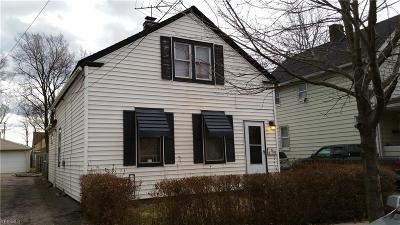 Cleveland Single Family Home For Sale: 3629 East 46th St