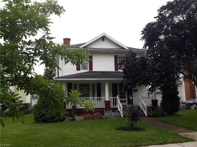Guernsey County Single Family Home Contingent: 711 Oakland Blvd