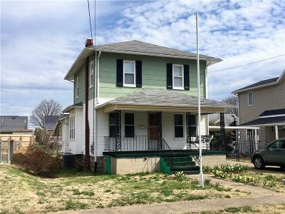 Vienna Single Family Home For Sale: 913 33rd Street