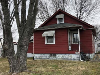 Mcdonald Single Family Home Active Under Contract: 2835 Pittsburgh Avenue