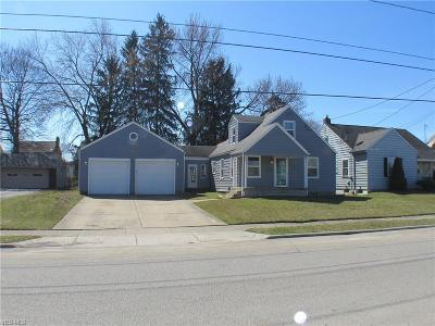 Struthers Single Family Home For Sale: 204 Wilson St