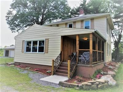 Poland Single Family Home For Sale: 1727 West Western Reserve Rd