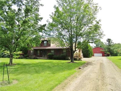 Single Family Home For Sale: 3851 Nichols Rd