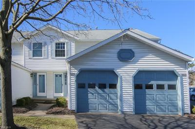 Twinsburg Condo/Townhouse Active Under Contract: 9596 E Idlewood Drive