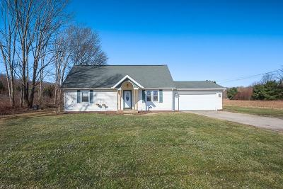 Perry Single Family Home For Sale: 3790 Townline Rd