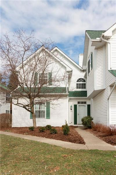 North Olmsted Condo/Townhouse For Sale: 214 Vista Cir #12B