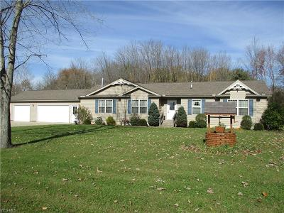 Pierpont Single Family Home For Sale: 5977 State Route 6