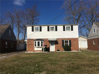Single Family Home For Sale: 4486 W 158