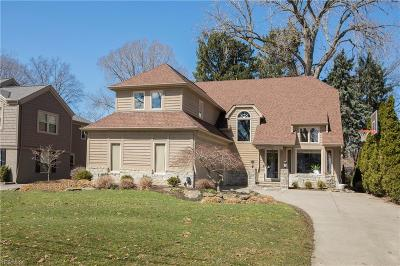 Rocky River Single Family Home For Sale: 20624 Beaconsfield Blvd