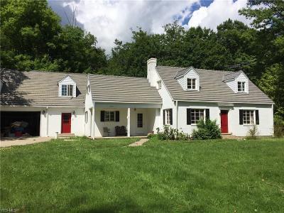 Chardon Single Family Home For Sale: 10400 Sherman Road