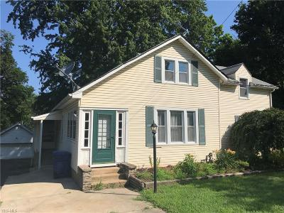 Painesville OH Single Family Home For Sale: $89,900