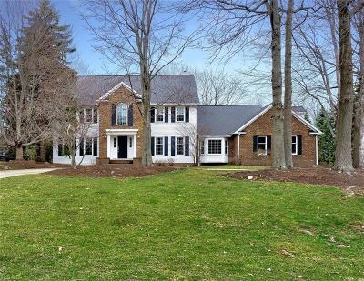 Willoughby Hills Single Family Home Contingent: 2863 Camelot Ct