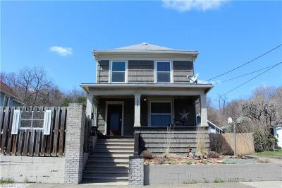 Wellsville Single Family Home For Sale: 1609 Chester Avenue