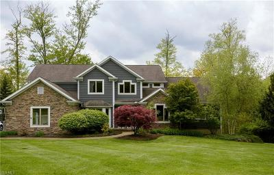 Chagrin Falls Single Family Home For Sale: 17452 Deepview Dr