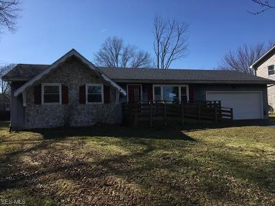 Canfield Single Family Home Active Under Contract: 3421 Heritage Court