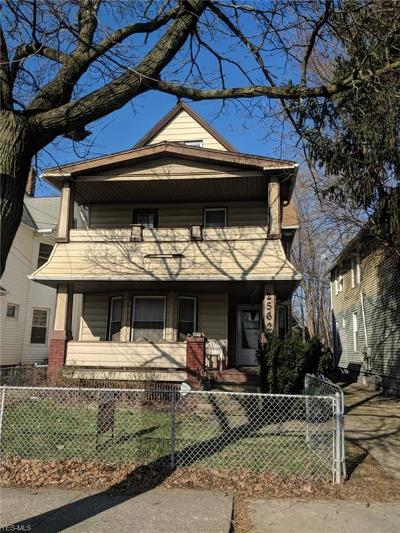 Cleveland Multi Family Home For Sale: 2562 West 10th St