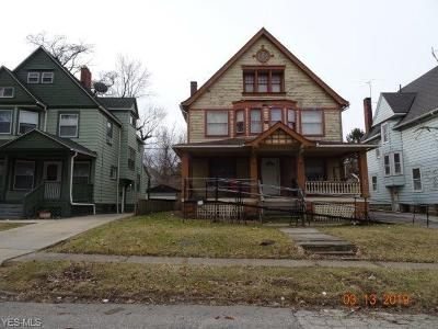 Cleveland Single Family Home Active Under Contract: 1830 Chapman Avenue