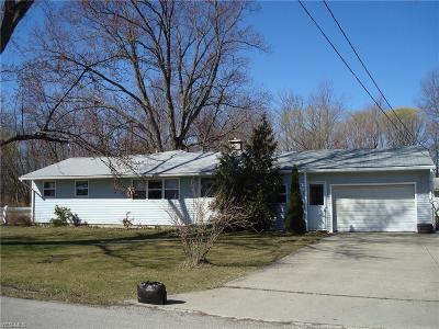 Ashtabula Single Family Home For Sale: 5931 Erickson Dr