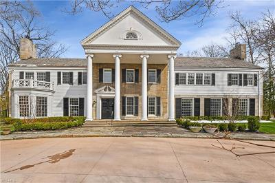 Shaker Heights Single Family Home For Sale: 19001 South Park Blvd