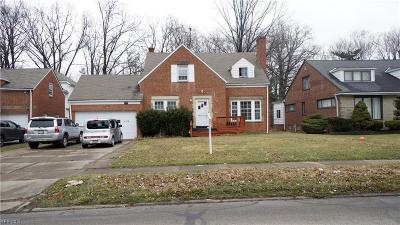 Cleveland Single Family Home For Sale: 3595 Severn Rd