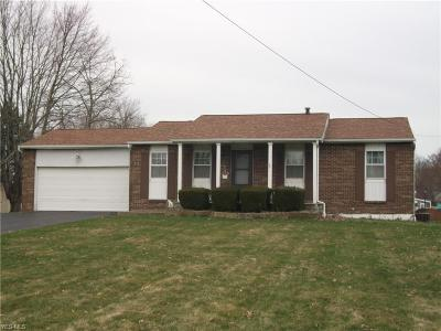 Lordstown Single Family Home For Sale: 1290 Carson Salt Springs Rd