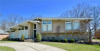 Fairview Park Single Family Home For Sale: 3911 West Valley