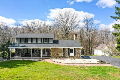 Canfield Single Family Home Active Under Contract: 7486 Crory Road
