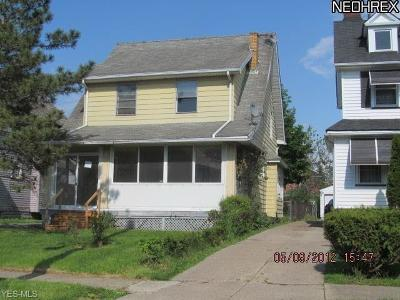 Cleveland Single Family Home For Sale: 4309 East 116th St