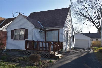 Lorain Single Family Home For Sale: 1805 Tait Street