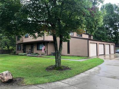 Olmsted Falls Condo/Townhouse For Sale: 26637 Lake Of The Falls Boulevard