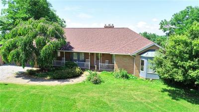 Guernsey County Single Family Home For Sale: 18230 Plumbline Rd