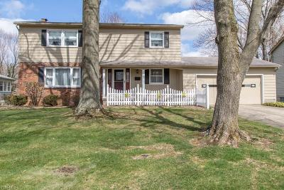 Boardman OH Single Family Home For Sale: $169,900