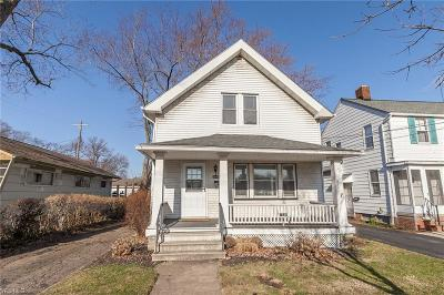 Rocky River Single Family Home For Sale: 1646 Lakeview Ave