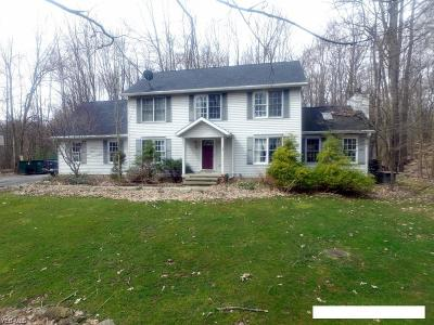 Chagrin Falls Single Family Home For Auction: 18410 Quinn Rd