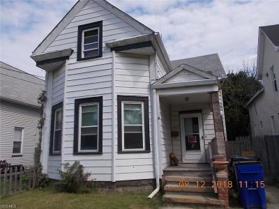 Single Family Home For Sale: 7200 Clark Ave