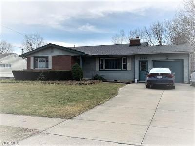 Ashtabula Single Family Home For Sale: 2330 West 13th St