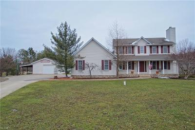 Leroy Single Family Home For Sale: 5489 Trask Road