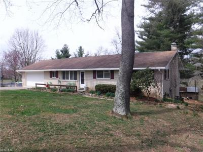Zanesville Single Family Home For Sale: 2116 Dunzweiler Dr