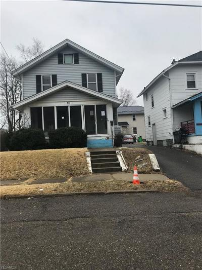 Massillon Single Family Home For Sale: 49 Pearl Ave Southeast