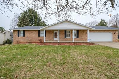 Massillon Single Family Home For Sale: 9353 Beatty St Northwest
