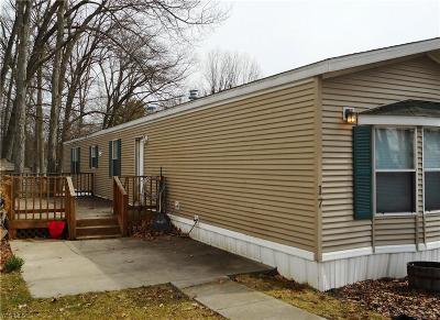 Ravenna Single Family Home For Sale: 5141 Newton Falls Road #17