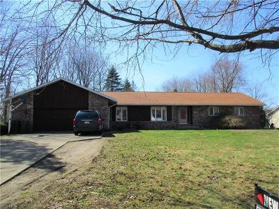 Conneaut Single Family Home For Sale: 513 Joann Dr