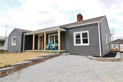 Zanesville Single Family Home For Sale: 3130 South River Rd