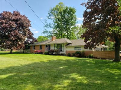 Boardman OH Single Family Home For Sale: $149,900