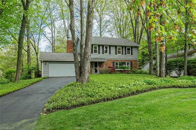 Chagrin Falls Single Family Home For Sale: 100 Carriage Stone Dr