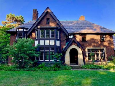 Shaker Heights Single Family Home For Sale: 2700 West Park Blvd