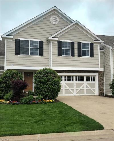 Chagrin Falls Condo/Townhouse For Sale: 120 Bell Tower Ct