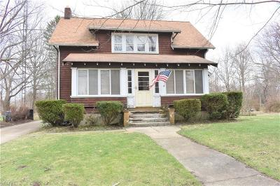 Ashtabula Single Family Home For Sale: 6142 Lucas Ave