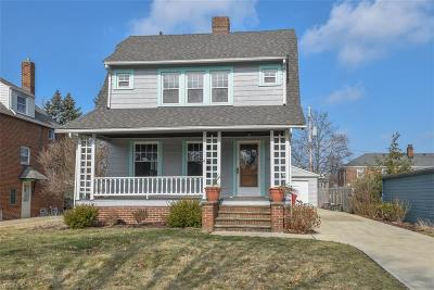 Rocky River Single Family Home Contingent: 19330 Laurel Ave
